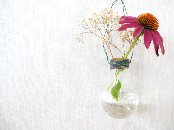 Free People's DIY Light Bulb Vases
