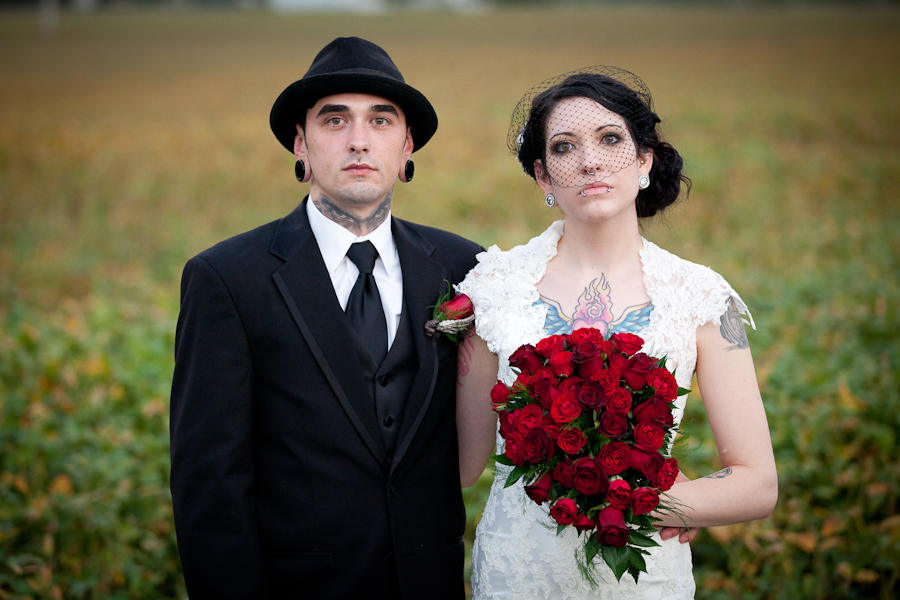 Liz TJ Edgar Allen Poe Inspired Wedding