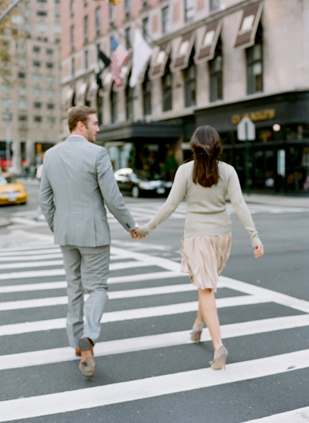 Iconic New York City Engagement Photo Session