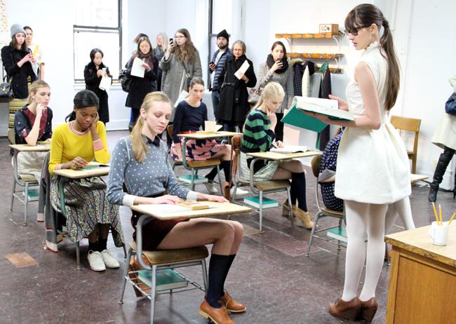 Wayward Girls Find A Home At Lauren Moffatt's Fall 2012 Collection