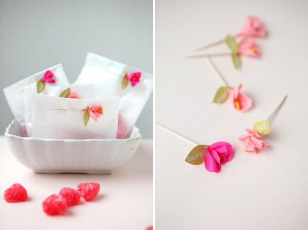 Mini Crepe Paper Flower DIY by Oh Happy Day