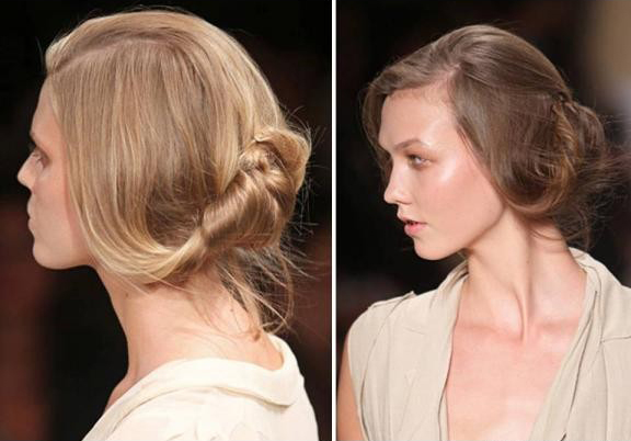 Loose Pinned Low Chignon