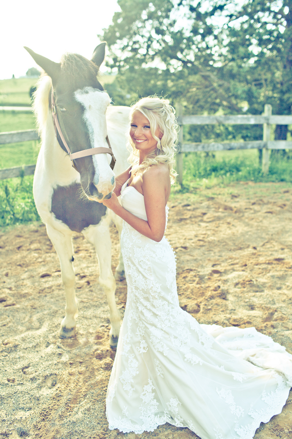 Bridal Portrait Series: Soft Summers Day, Ponies & Sunshine