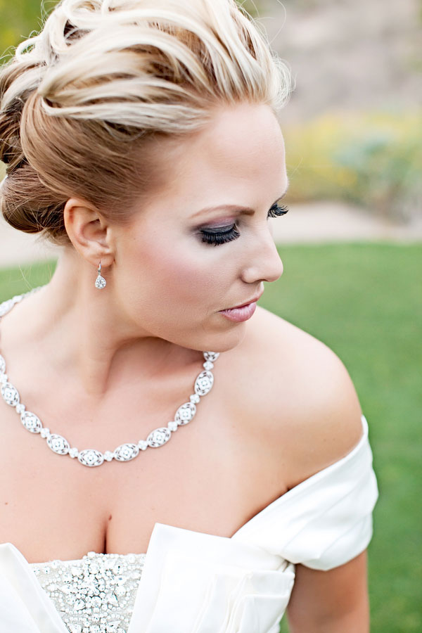 Mix Matched Bridesmaid Dresses, Stunning Bride & Elegance Galore At This Arizona Golf Course Wedding