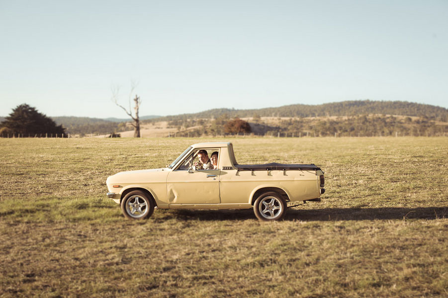 Australian Country Wedding Featuring A Private Tasmania Farm Complete With Shabby Chic Touches