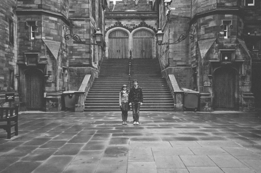 A Simple Artful Take On Engagement Photos With Scotland On Spotlight