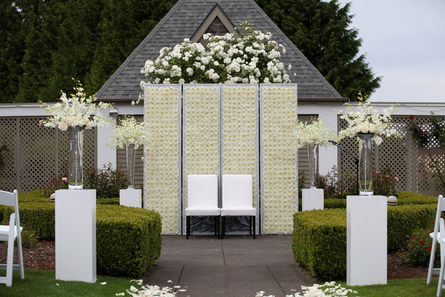 Modern Luxury With A Slight Vintage Touch Oregon Wedding