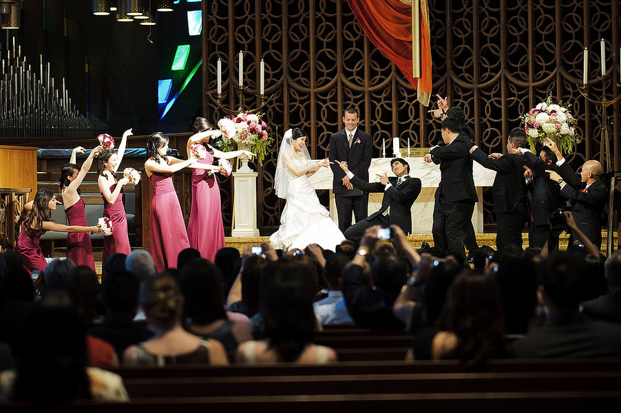 The Spirit of Life, Love & Laughing in This Tradition Based Youthful Wedding