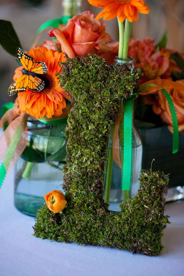Soft Sweet Orange & Luscious Greens Inspire This Laid Back Styled Shoot