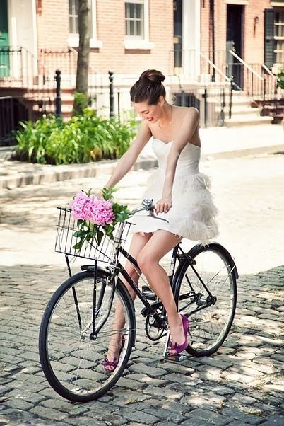Blissful Bride on Cruiser