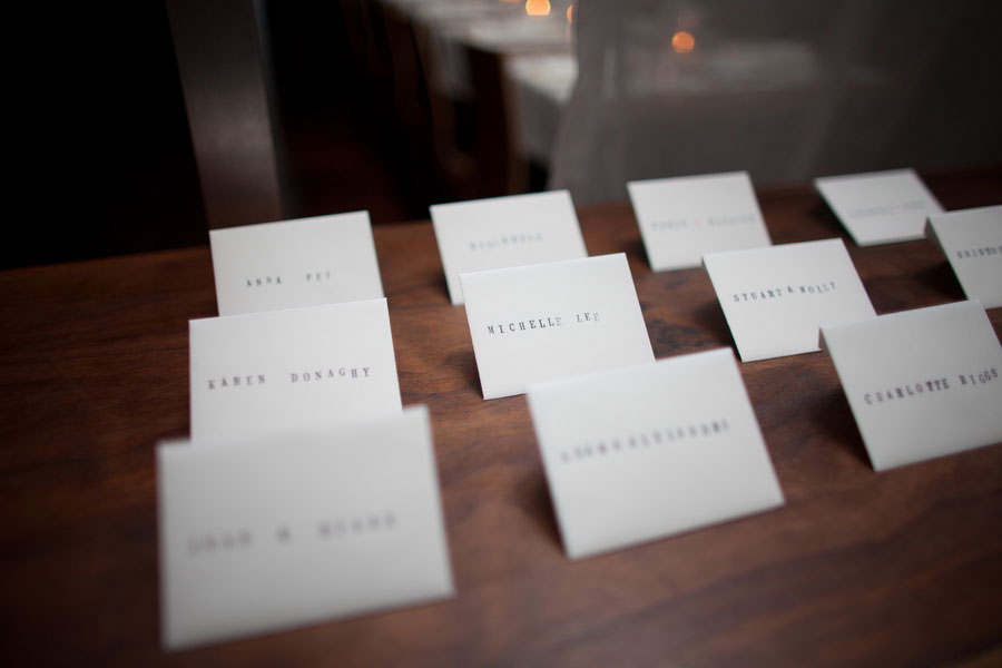Modern Manhattan Wedding Featuring A Michelin Star Restaurant | Photograph by Casey Fatchett Photography