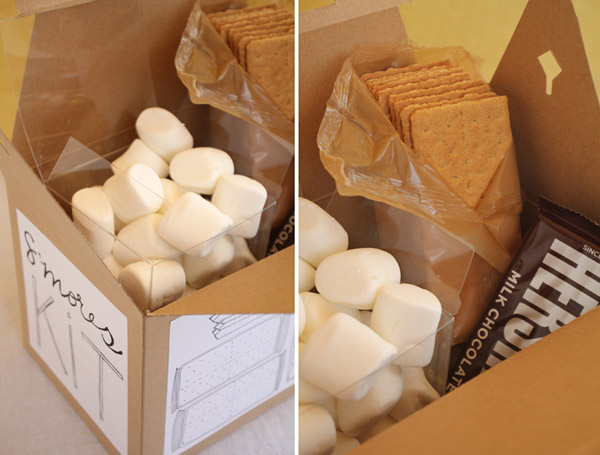 DIY Smore's Kits by Oh Happy Day
