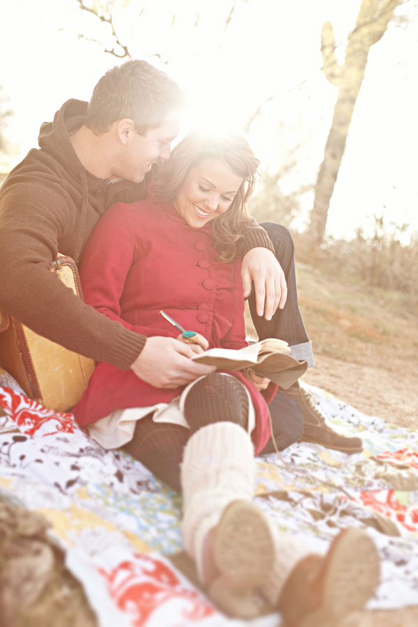 Brilliant Outdoor Traveling To The Campfire Engagement Session