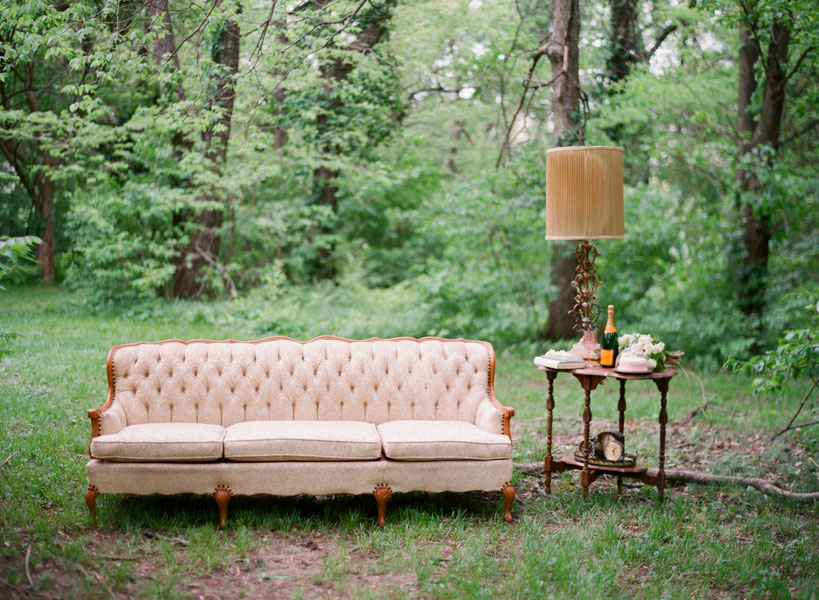 Jessica's Parlor Chic Outdoor Birthday Boudoir Session
