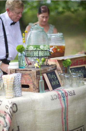 Pre-Ceremony Beverages for Guests