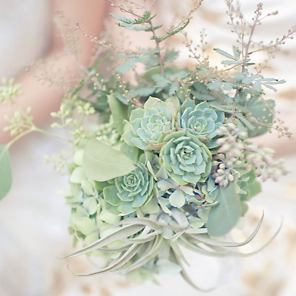 A Lush Mix Match Succulent Filled Chic Hipster Wedding In California