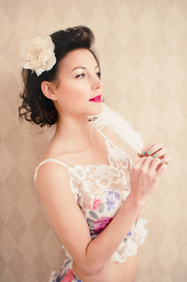 Vintage Boudoir Styled Shoot by Henry Photographers