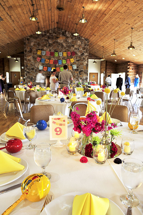 a colorful explosion of mexican themed elements in a swoon worthy wedding fiesta