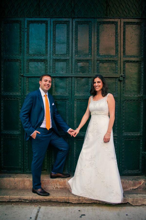 Marisa Rothstein & Nolan Robinson Bookstore Wedding Sarah Tew Photography
