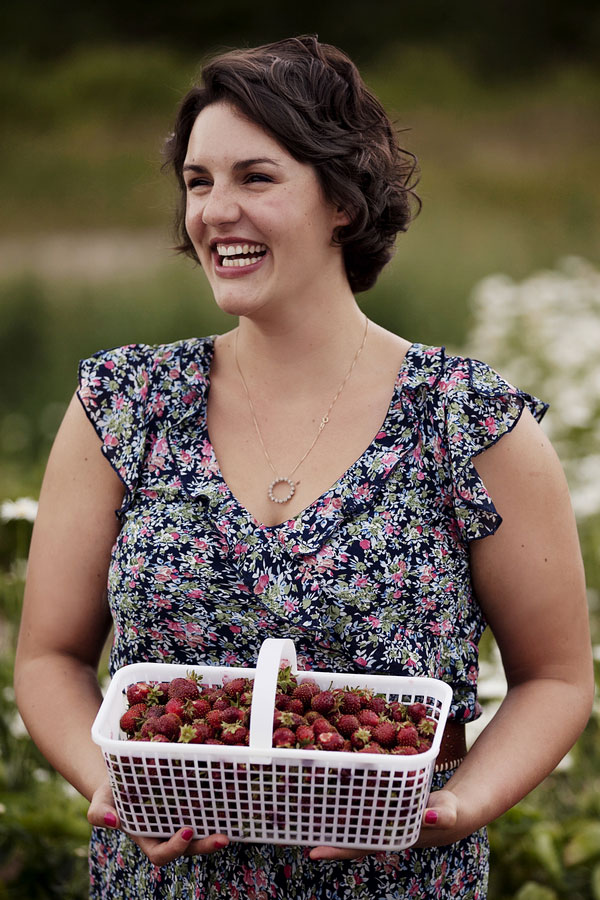 Strawberry Field Dreams, Surprise Guest, Laughter & Love In Our End of Summer Engagement Session