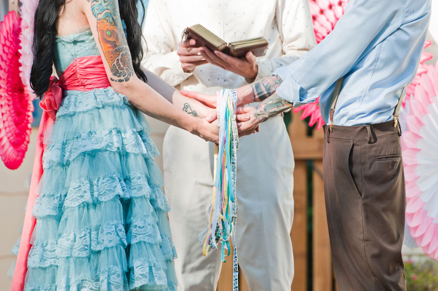 An Eccentric Vintage Wedding With A Retro 50s Carnival Feel In Fort Collins, Colorado