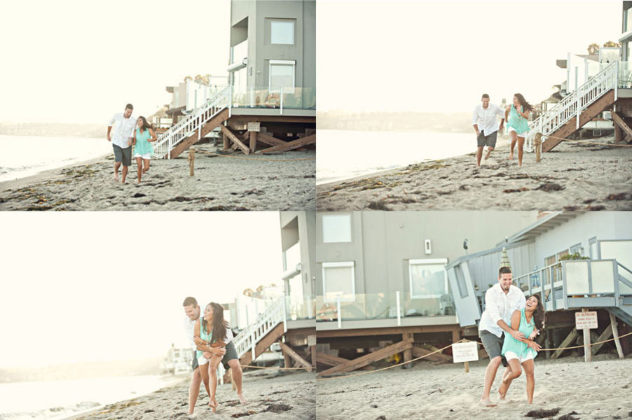 A Simple To Perfection Malibu, California Engagement Session