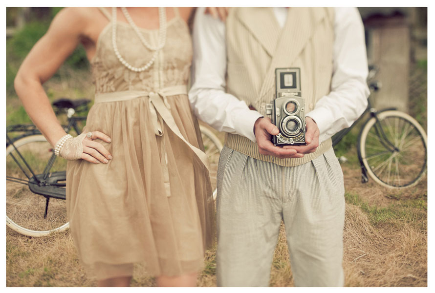 Rushland Love In This 1920's Probhibition Era Style Rural Summer Shoot