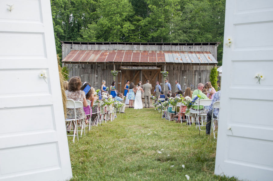 Libbie & Cord Country Wedding Adam Mullins Photography