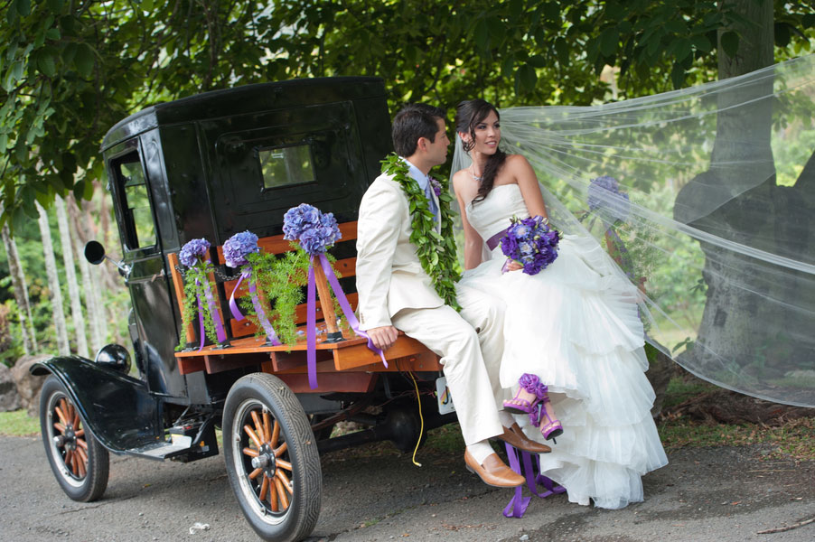 Rosella & Dane Hawaiian Wedding Studio 3511 Photography