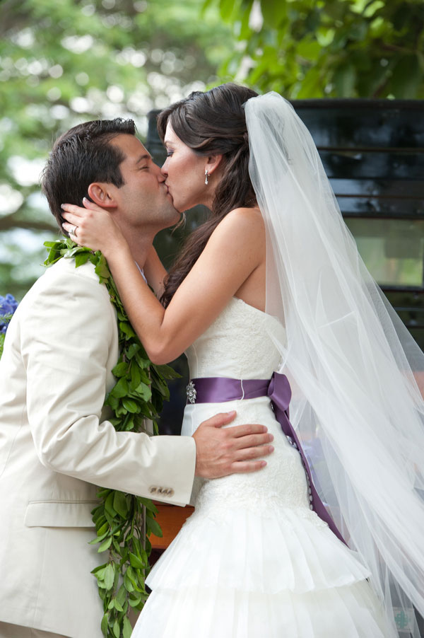 Rosella & Dane Hawaiian Wedding Studio 3511 Photography