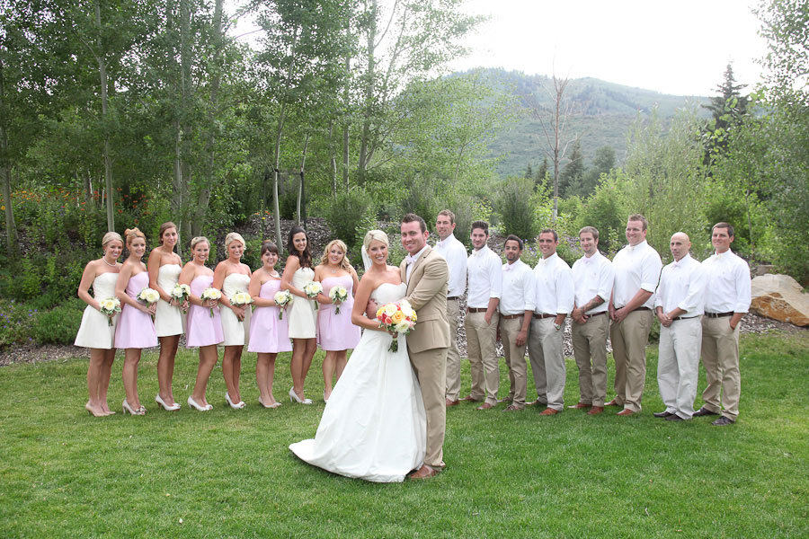 Preppy Park City Utah Wedding | Photograph by Nick Sokoloff