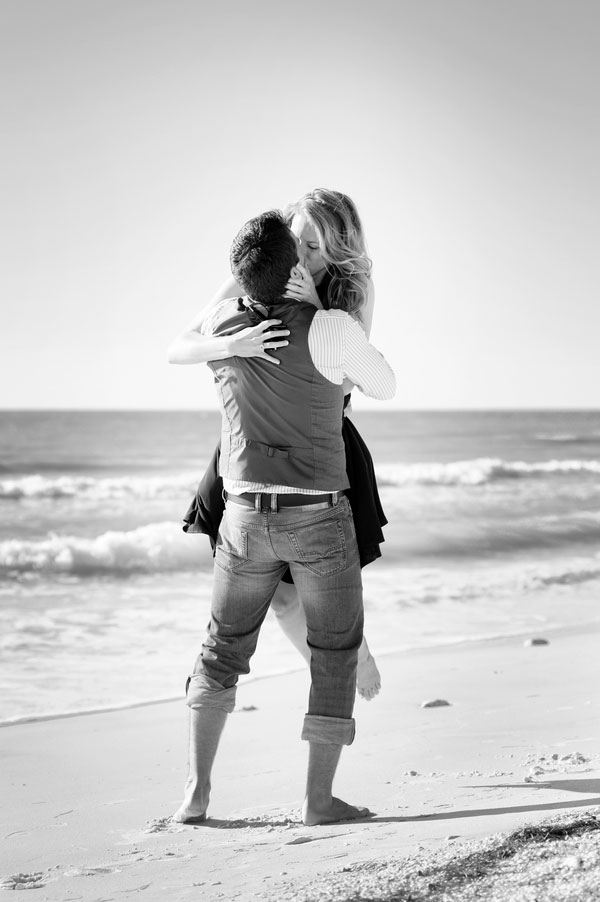 Kelsie and Christopher Surprise Seaside Proposal and Engagement Session Karen Harrison Photography (15)