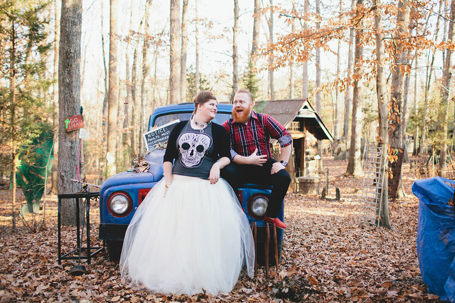 Rustic Outdoor Offbeat Engagement Session The Last Unicorn Chapel Hill North Carolina Blest Photography (16)