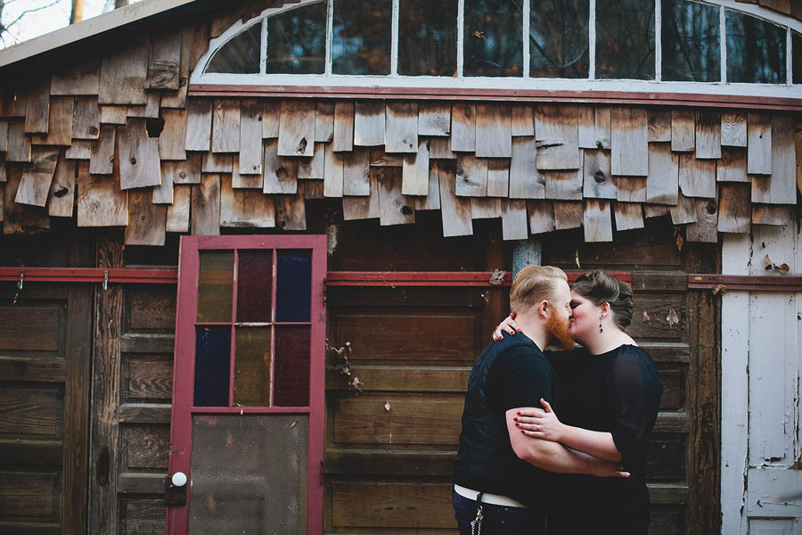 Rustic Outdoor Offbeat Engagement Session The Last Unicorn Chapel Hill North Carolina Blest Photography (2)