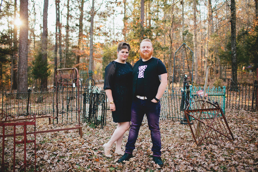 Rustic Outdoor Offbeat Engagement Session The Last Unicorn Chapel Hill North Carolina Blest Photography (22)