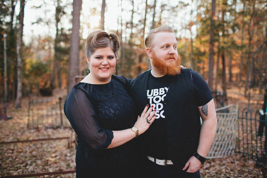 Rustic Outdoor Offbeat Engagement Session The Last Unicorn Chapel Hill North Carolina Blest Photography (50)