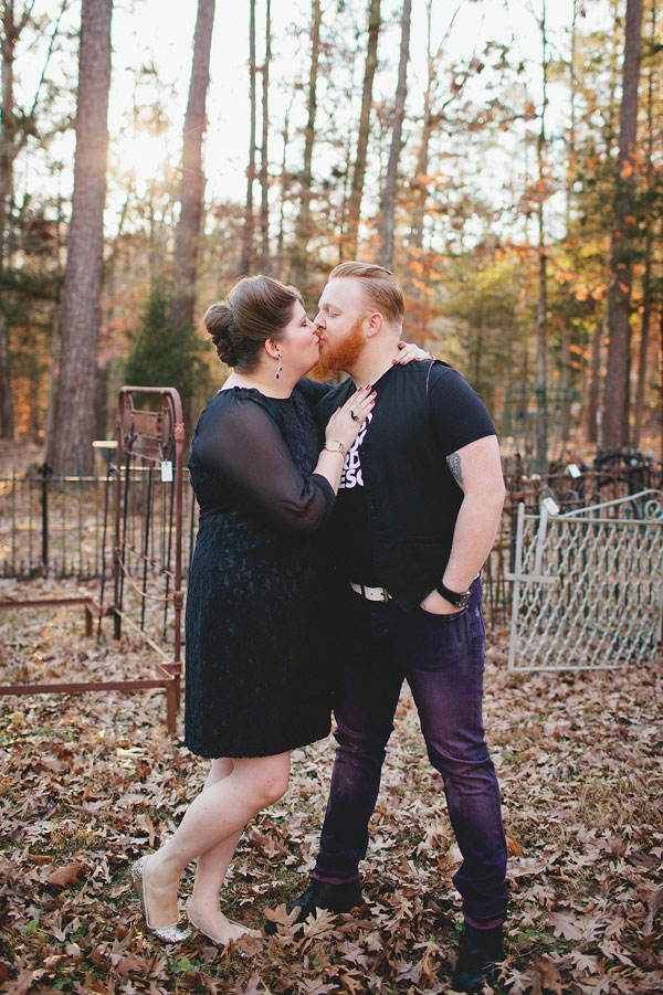Rustic Outdoor Offbeat Engagement Session The Last Unicorn Chapel Hill North Carolina Blest Photography (6)