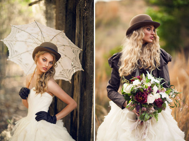 Why It Works Wednesday: 1800's Bridal Style Goes Prairie Couture