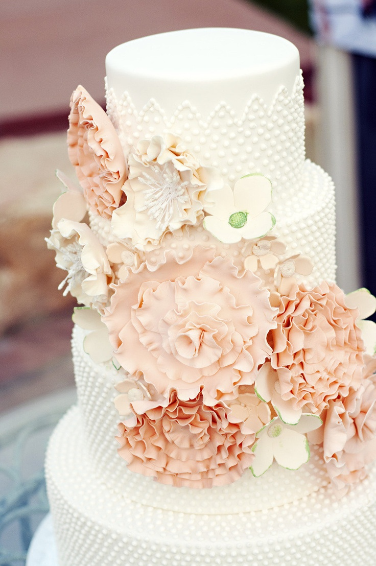 Designer Cakes by April Chantel Marie Photography via Style Me Pretty