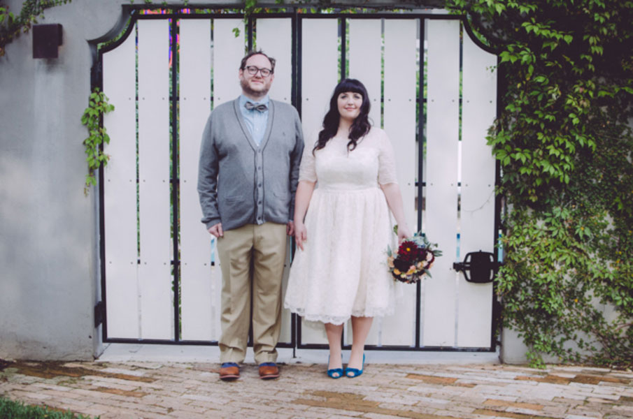 Offbeat Intimate Wedding Hotel Saint Cecilia Austin Texas Suzuran Photography (57)