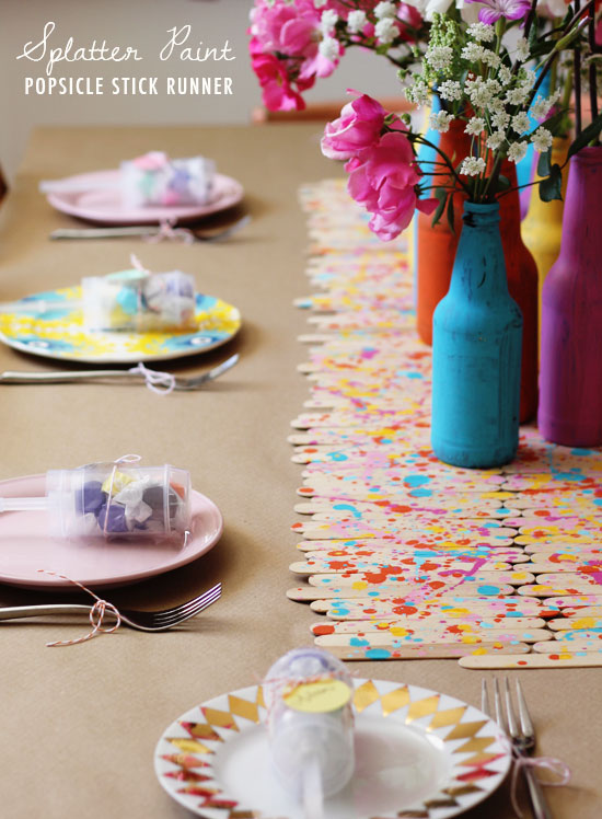Simple Diy Table Decor