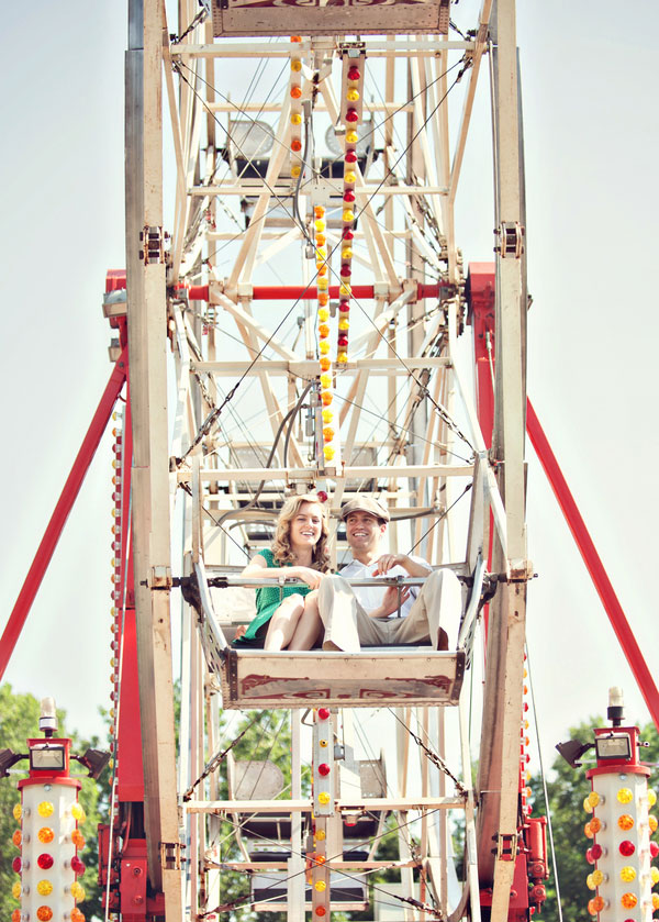 Vintage Carnival Engagement Photos Leah Moss Photography (10)