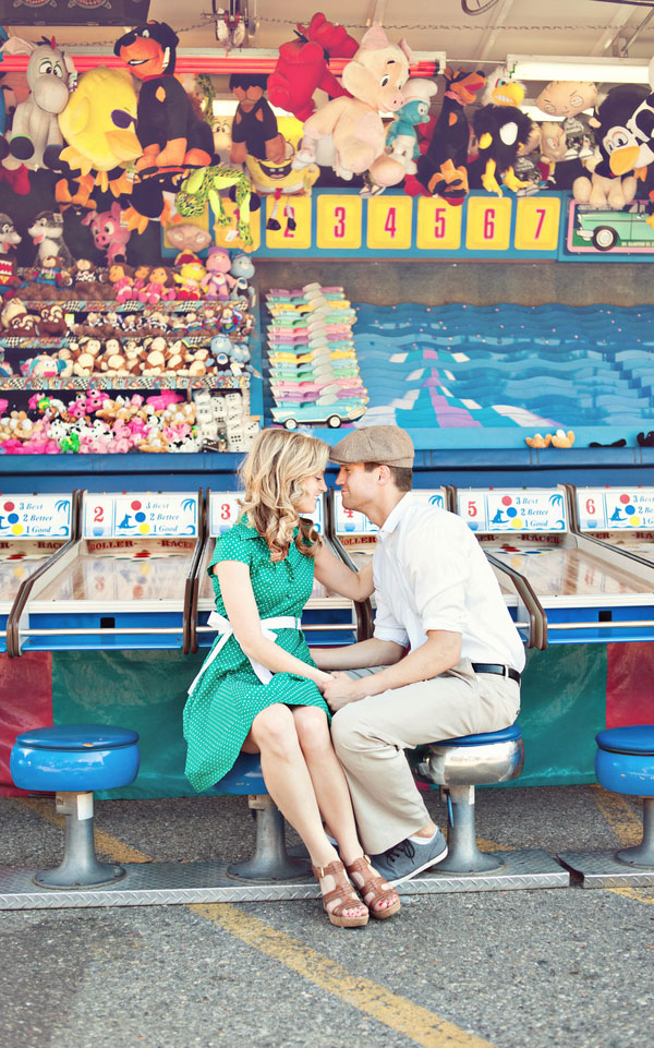 Vintage Carnival Engagement Photos Leah Moss Photography (11)