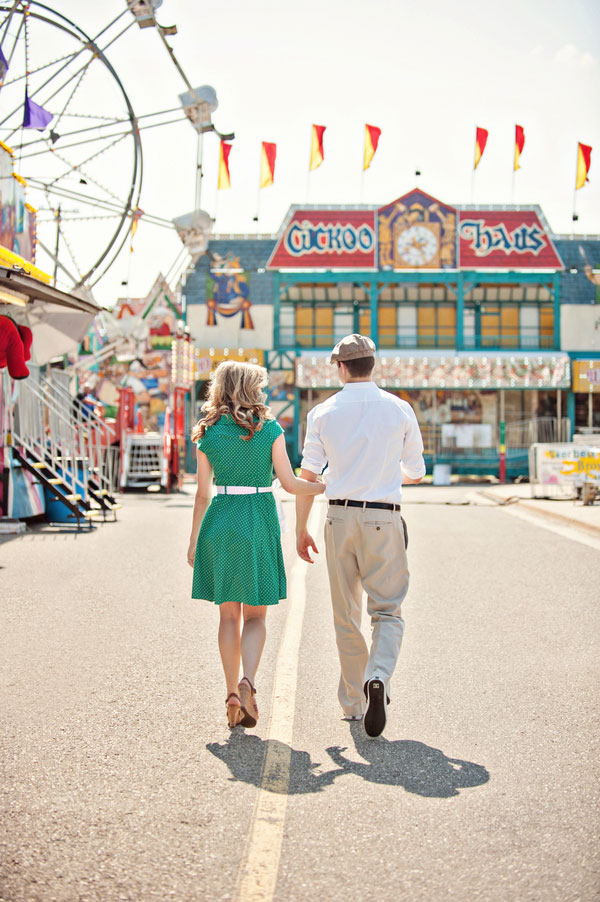 Vintage Carnival Engagement Photos Leah Moss Photography (15)
