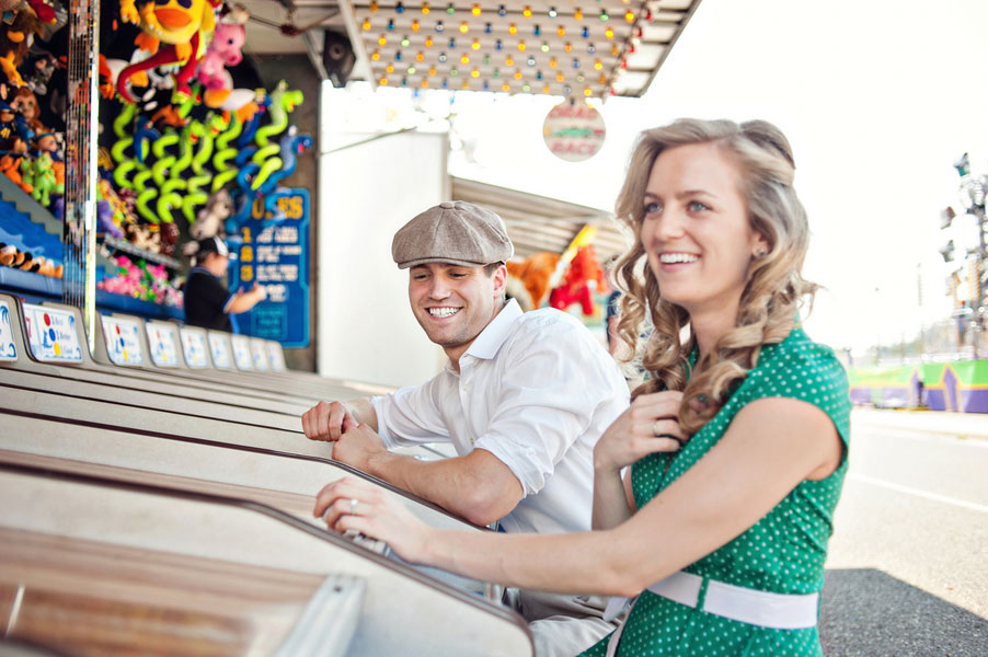 Vintage Carnival Engagement Photos Leah Moss Photography (18)