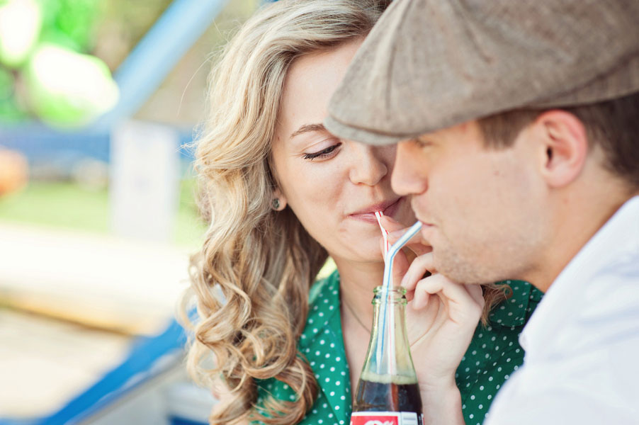 Vintage Carnival Engagement Photos Leah Moss Photography (26)