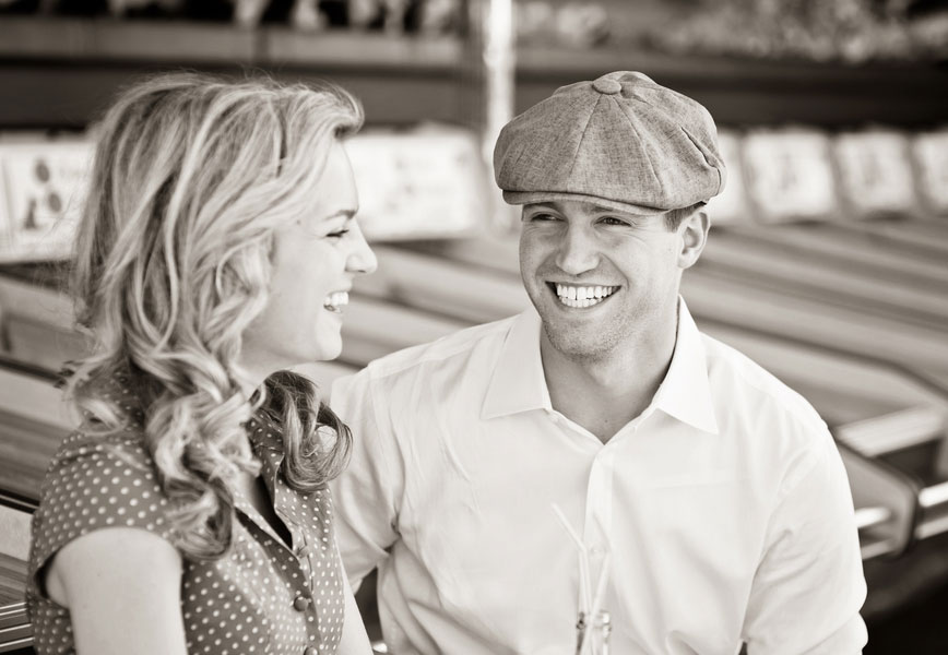 Vintage Carnival Engagement Photos Leah Moss Photography (28)