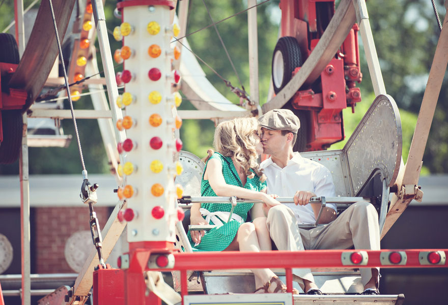 Vintage Carnival Engagement Photos Leah Moss Photography (29)