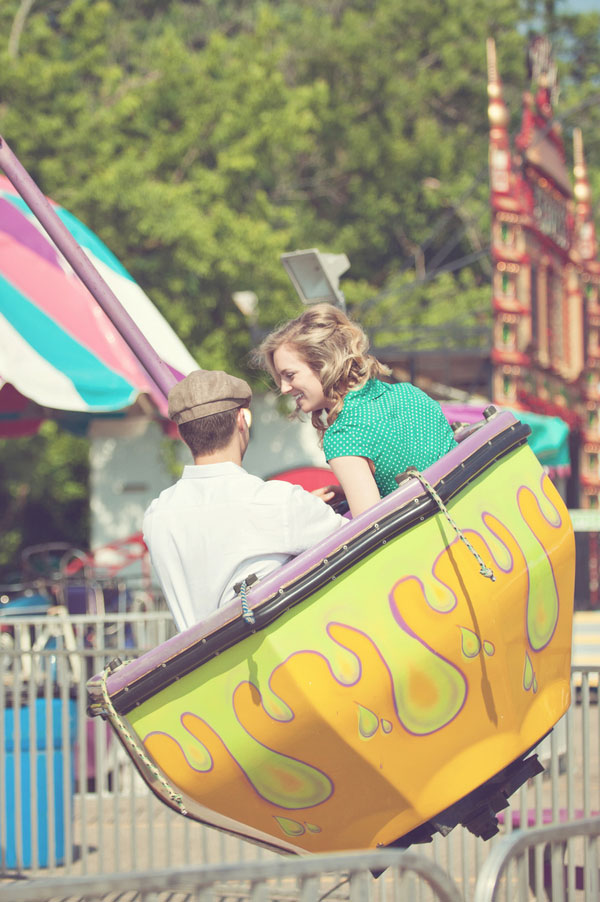 Vintage Carnival Engagement Photos Leah Moss Photography (3)