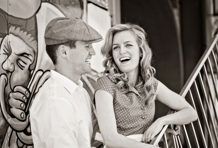 Vintage Carnival Engagement Photos Leah Moss Photography (33)